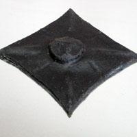 Декоративная Заклепка Амаро Черная