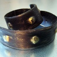 Ремень декоративный Амаро золото