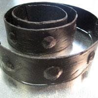 Ремень декоративный Амаро черный
