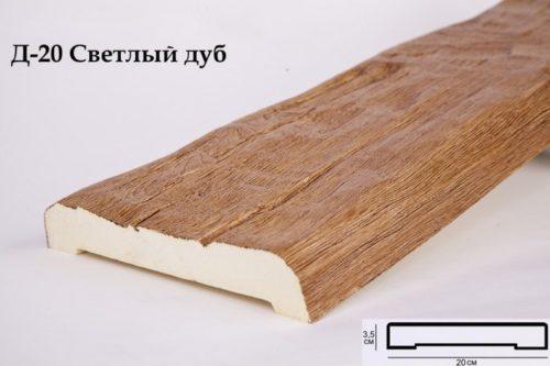 Декоративная доска Кантри 90х20 Рустик