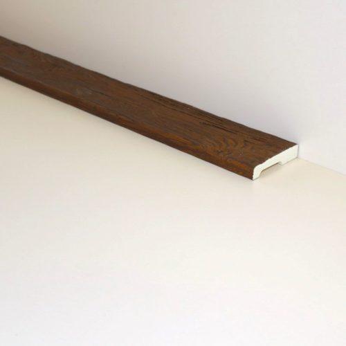 Декоративная доска Кантри 90х20 Рустик - 1.5 метра, Белый