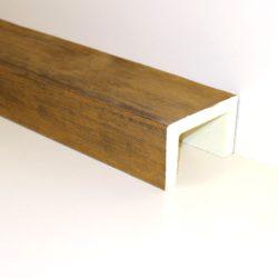 Декоративная балка Кантри 170х105 Классика - 1.2 метра, Светлый дуб