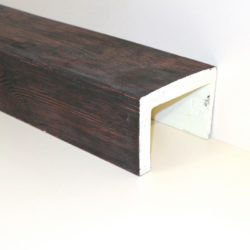 Декоративная балка Кантри 200x130 Классика - 1.2 метра, Белый
