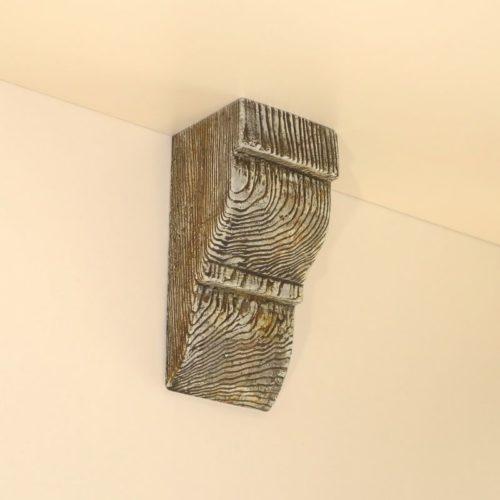 Консоль для балки Кантри 120х120 Классика - Белый