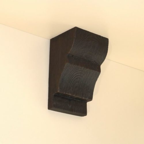 Консоль для балки Кантри 150х120 Классика - Белый