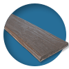 Декоративная балка Кантри под бревно 150x115