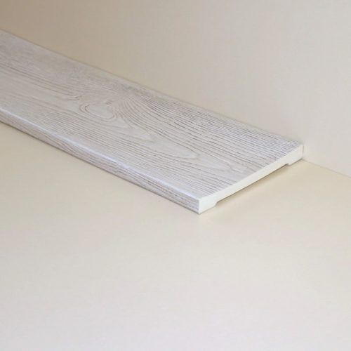 Декоративная доска Кантри 200х20 Классика - 1.5 метра, Белый