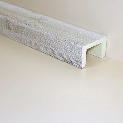 Декоративная балка Кантри 135х85 Классика - 1.2 метра, Береза