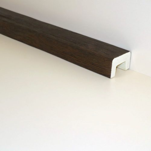 Декоративная балка Кантри 90х60 Классика - 1.2 метра, Белый