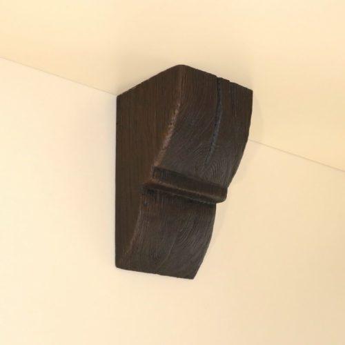 Консоль для балки Кантри 150х120 Рустик - Белый