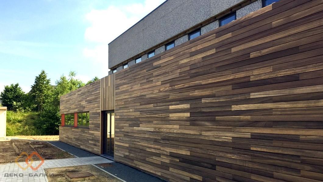 Декоративные доски на стену для отделки фасада дома