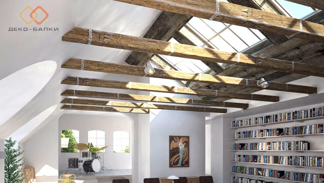 Декоративные ремни для балок потолочных и фасадных